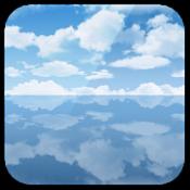 Androidアプリ「天空の塩湖ライブ壁紙」のアイコン