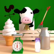 Androidアプリ「脱出ゲーム Milk Farm」のアイコン