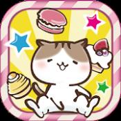 Androidアプリ「にゃんことスイーツタワー -もふもふ猫つみゲーム-」のアイコン