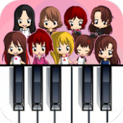 Androidアプリ「Magic Tiles - TWICE Edition (K-Pop)」のアイコン