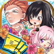 Androidアプリ「ジャンプチ ヒーローズ 500万DL突破 週刊少年ジャンプのパズルRPG」のアイコン