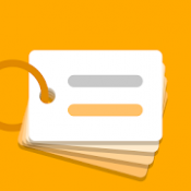 Androidアプリ「単語帳 dA Flashcards 聞き流せる、自分で作る単語帳アプリ」のアイコン