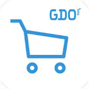 Androidアプリ「GDOゴルフショップ ‐GDO(ゴルフダイジェスト・オンライン)‐」のアイコン