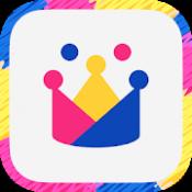 Androidアプリ「子ども向けオンライン英会話「GLOBAL CROWN」-英語4技能を学べる教育アプリ-」のアイコン