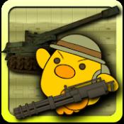 Androidアプリ「自走砲一家! 不思議ダンジョンアクションシューティング! 完全無料ゆるキャラローグライクゲーム」のアイコン