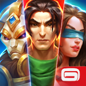 Androidアプリ「Dungeon Hunter Champions: 5v5 MOBA and RPG」のアイコン