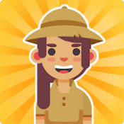 Androidアプリ「Idle Zoo Tycoon: Tap, Build & Upgrade a Custom Zoo」のアイコン