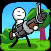 Androidアプリ「One Gun: Stickman」のアイコン