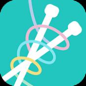 Androidアプリ「棒針編み辞典」のアイコン