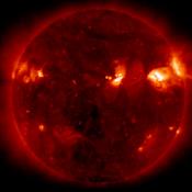 Androidアプリ「国立天文台 太陽回遊VR」のアイコン
