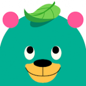 Androidアプリ「Khan Academy Kids: Free educational games & books」のアイコン