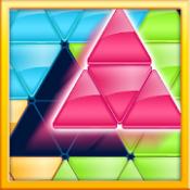 Androidアプリ「ブロック!三角形パズル:タングラム」のアイコン