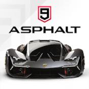 Androidアプリ「アスファルト9:Legends- 最高のカーアクションレースゲーム」のアイコン