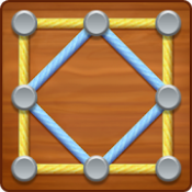 Androidアプリ「Line Puzzle: String Art」のアイコン