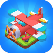 Androidアプリ「Merge Plane - Click & Idle Tycoon」のアイコン