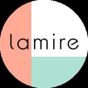 Androidアプリ「大人女子向けファッション・美容・ライフスタイル情報アプリ lamire〈ラミレ〉」のアイコン