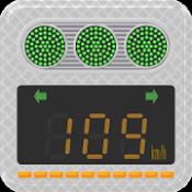 Androidアプリ「トラック八郎(速度表示灯付きデコトラスピードメーター)」のアイコン