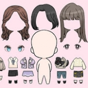 Androidアプリ「Unnie doll」のアイコン