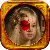 Androidアプリ「世にも怪奇な絵画 - 意味がわかると怖い絵画」のアイコン