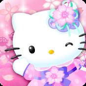 Androidアプリ「ハローキティワールド2~かわいいデコレーションのサンリオ箱庭ゲーム~ magic park 無料」のアイコン