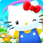 Androidアプリ「ハローキティワールド2~かわいいデコレーションのサンリオ箱庭ゲーム~」のアイコン