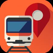 Androidアプリ「乗換MAPナビ |無料の乗り換え案内+電車&バス時刻表,渋滞MAP,鉄道運行情報,交通情報ナビアプリ」のアイコン