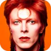 Androidアプリ「David Bowie is」のアイコン