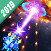 Androidアプリ「Space Justice: シューティングゲーム , 空中戦」のアイコン