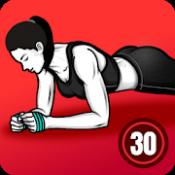 Androidアプリ「プランクワークアウト - 自宅トレーニング、30日のプランクチャレンジ 無料」のアイコン