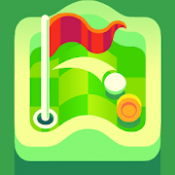 Androidアプリ「Nano Golf: Hole in One」のアイコン