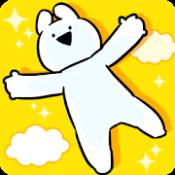 Androidアプリ「すこぶる動くウサギのスカイダイブ」のアイコン