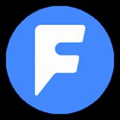 Androidアプリ「単語帳F 効率的で効果的な復習方法に拘った、自分で作る無料の単語帳メーカー(フラッシュカード)アプリ」のアイコン