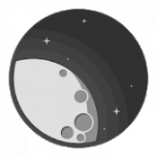 Androidアプリ「MOON - Current Moon Phase」のアイコン