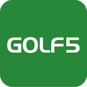 Androidアプリ「ゴルフ5 - 人気クラブ・ウェアが揃う日本最大級のGOLF用品専門ショップ。通販や中古クラブ買取も!」のアイコン