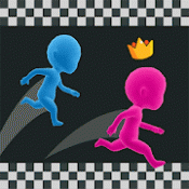 Androidアプリ「Run Race 3D - 3D 競走」のアイコン