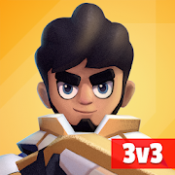 Androidアプリ「Heroes Strike - 3v3 Moba Brawl Shooting」のアイコン