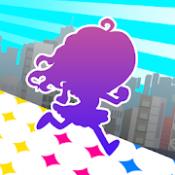 Androidアプリ「おしゃべり!カケジョ!~奪われたドットコインを追え!~」のアイコン