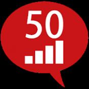 Androidアプリ「50ヶ国語のステップ」のアイコン