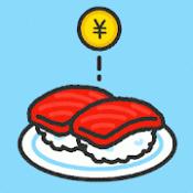 Androidアプリ「すしあつめ - MERGE SUSHI -」のアイコン