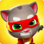 Androidアプリ「トーキング・トムのヒーロー・ダッシュ」のアイコン