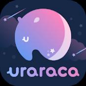 Androidアプリ「uraraca -  占い師に電話で婚期の鑑定や恋愛占いや相性の悩みを相談!-」のアイコン