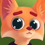 Androidアプリ「Don't stop, Fox! - 走って、キツネ!」のアイコン