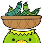 Androidアプリ「きゅうりパンデミック! 世界に栄養があると伝えるために…」のアイコン