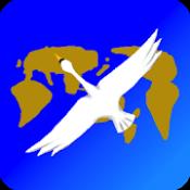 Androidアプリ「吉方位マップ - 九星気学 -」のアイコン