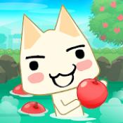 Androidアプリ「トロとパズル ~どこでもいっしょ~ フルーツと温泉街が舞台のマッチ3パズルゲーム(トロパズル)」のアイコン