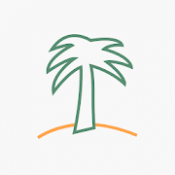 Androidアプリ「Desert Island - A Digital Wellbeing Experiment」のアイコン