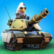 Androidアプリ「PvPets: Tank Battle Royale」のアイコン