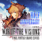 Androidアプリ「FFBE幻影戦争 WAR OF THE VISIONS」のアイコン