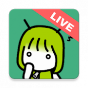 Androidアプリ「おしゃべりAIライブ-人工知能とみんなで会話して育てよう!愚痴や暇つぶしの雑談にぴったり」のアイコン