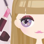 Androidアプリ「Cute Eyes Maker - かわいい目を作るメイクアップゲーム」のアイコン